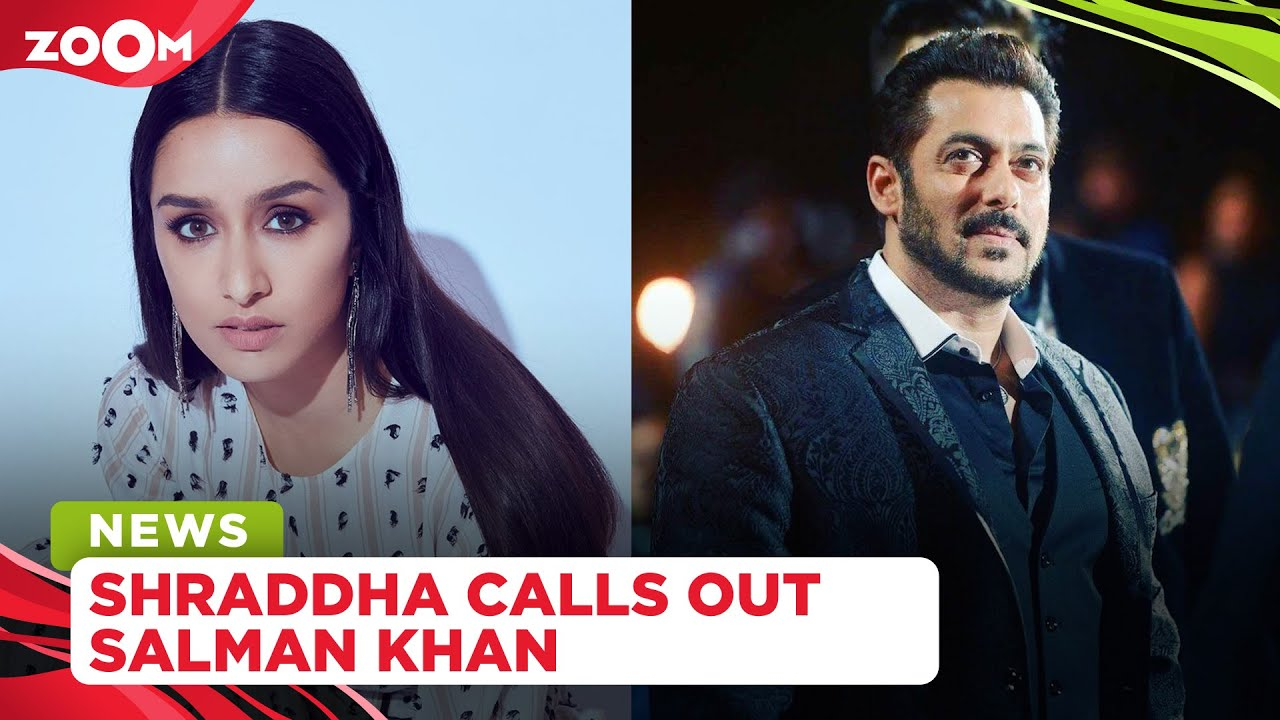 Shraddha Kapoor calls out Salman Khan for animal cruelty, edits her post later