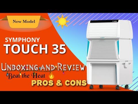 Symphony Touch 35 : Unboxing and Review | 2018 New Model Cooler with Remote | Best in Class