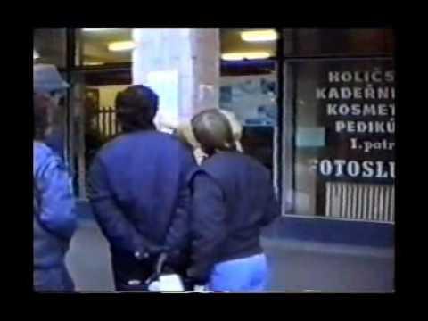 Břeclav 1989 - sametová revoluce 1.část