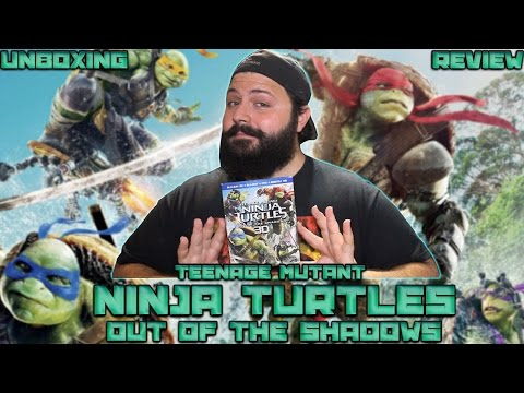Teenage Mutant Ninja Turtles 2: Out Of The Shadows 3D Bluray Unboxing & Review | BLURAY DAN