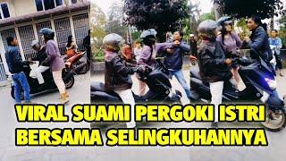 Suami Pergoki Istri <b>Selingkuh</b>, Boncengan Mesra Naik Sepeda ...