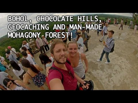 Chocolate hills, mahogany man-made forest, geocaching in Bohol | June 25th, 2016