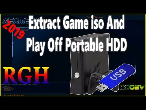 Repeat How To Extract XBOX 360 Game ISO And Play Them Off Portable