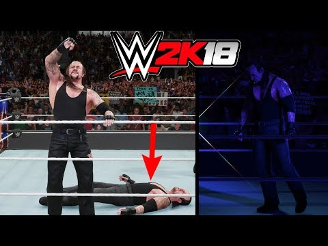 WWE 2K18: What Happens When The Undertaker Retires The Undertaker At WrestleMania?