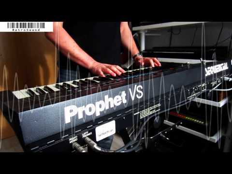 """Sequential Circuits Prophet VS Synthesizer  """"Wave 75"""" Choir"""