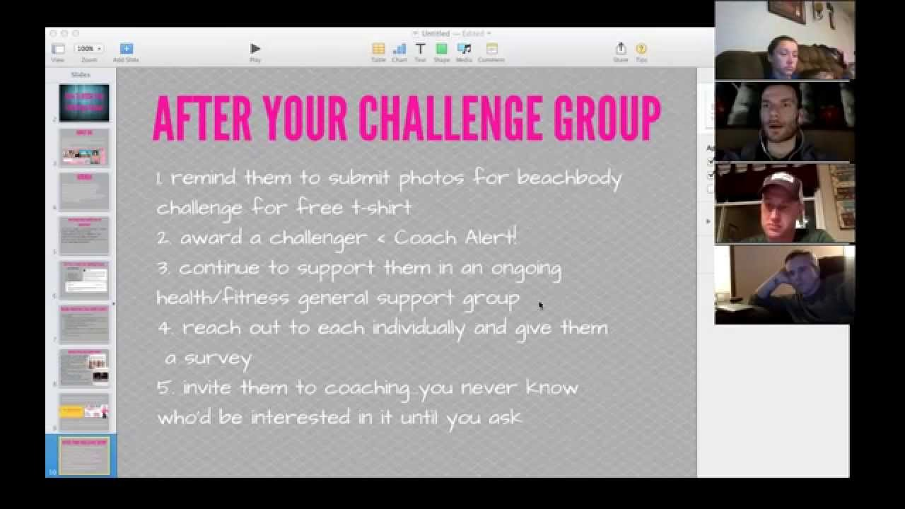 best beachbody coach challenge group practices jenny jaucian youtube