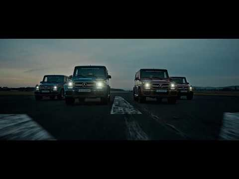 Mercedes-AMG G 63 Driving Trailer Scenes with Roger Federer