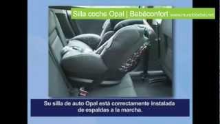 Silla coche Opal Bebéconfort - Contra a la marcha   mundoBebes.net