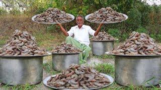 Giant Loose prawns | Big Shrimp Snacks By Grandpa Recipe | Grandpa Kitchen