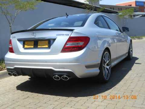 2015 mercedes benz c class c63 amg coupe 507 series auto for sale on auto trader south africa. Black Bedroom Furniture Sets. Home Design Ideas