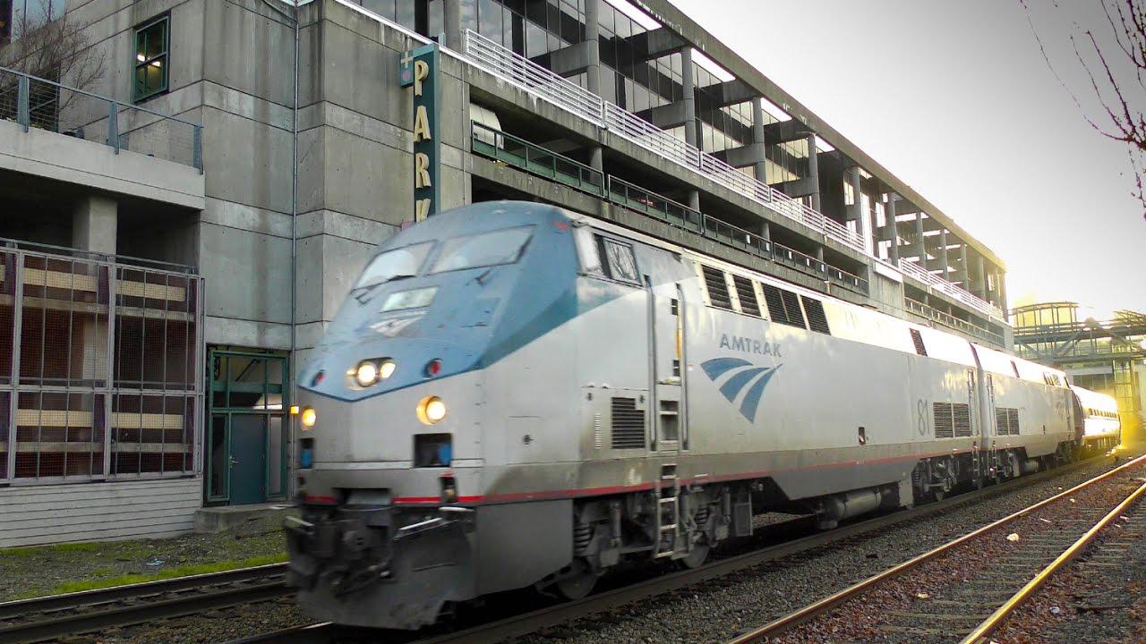 Seattle to Leavenworth, WA Snow Train 4K - YouTube