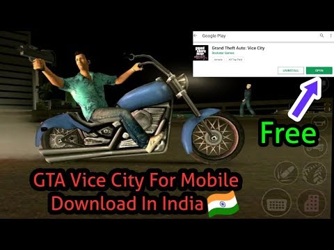 GTA Vice City For Mobile Phone Download (apk+obb File)
