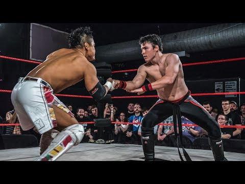 KUSHIDA vs. Mike Bailey WCPW Loaded: September 28th, 2017  Part 2