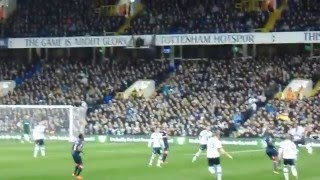 White Hart Lane athmosphere against Newcastle United