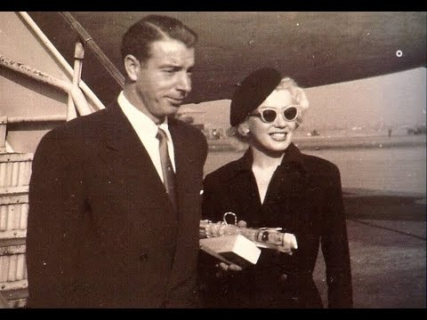 Marilyn Monroe And Joe Dimaggio Wed 1954 -  Fox Suspension Lifted