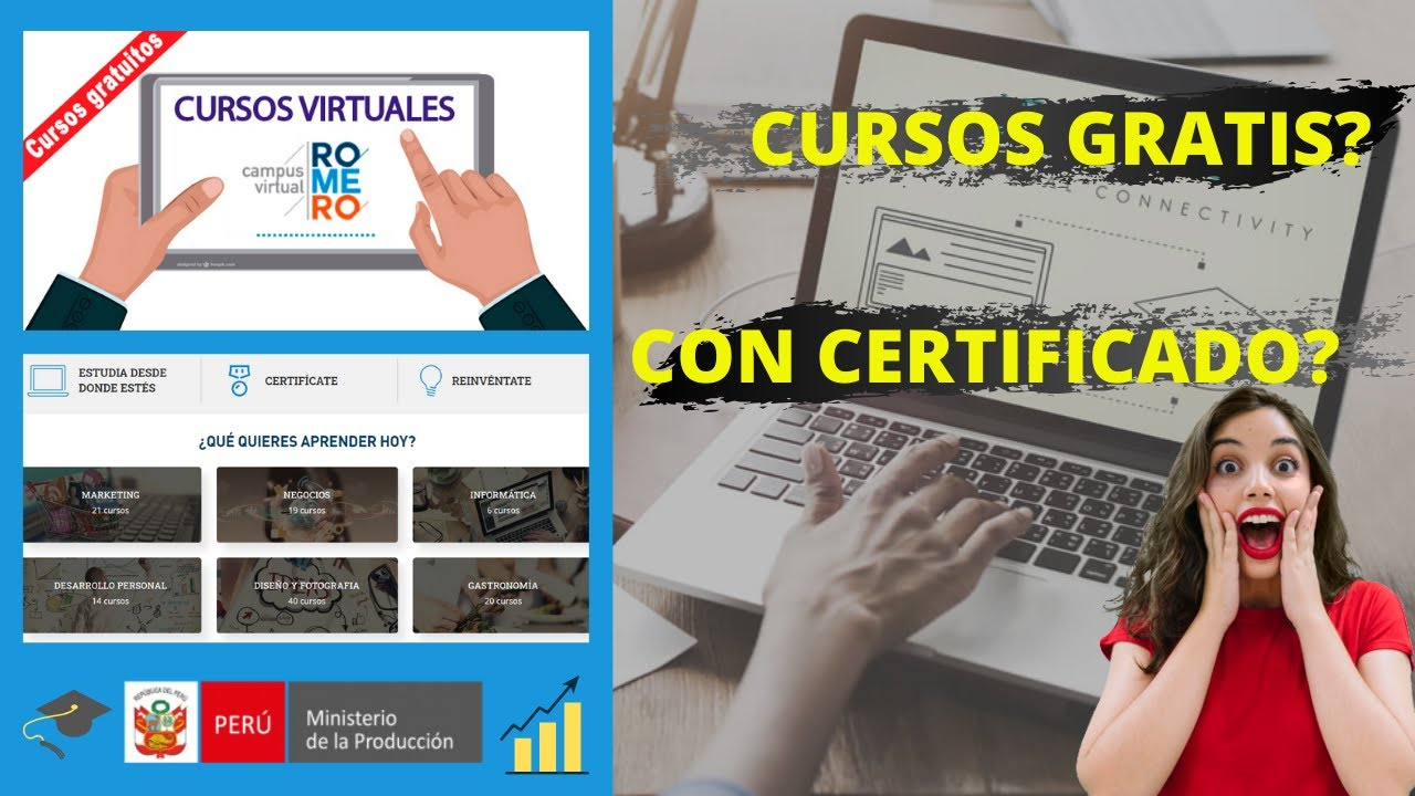 Curso virtual campus romero