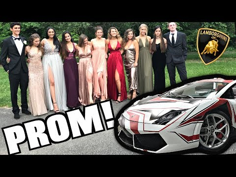 Thumbnail: Driving My Lamborghini To High School Prom! Crazy Reactions!!