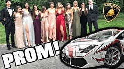 Driving My Lamborghini To High School Prom! Crazy Reactions!!