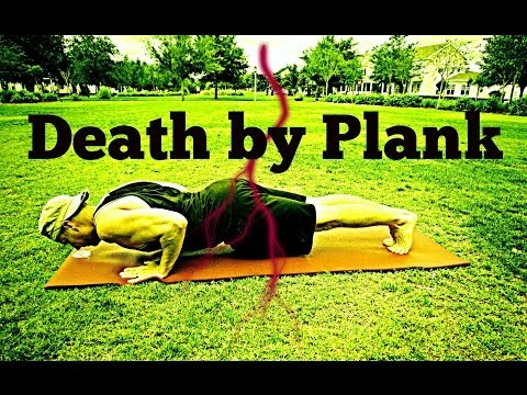 33 Min 'Death by Plank' Ab & Core Workout | No Gym Home Workout Exercises #plankworkout