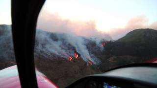 Dramatic aerial footage of Cape fire's destruction