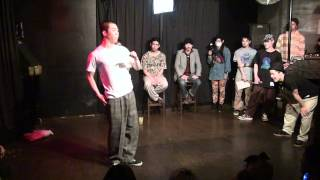 NEW BIRTH vol.4 BEST 4 HOAN VS MASATO (2nd ROUND)