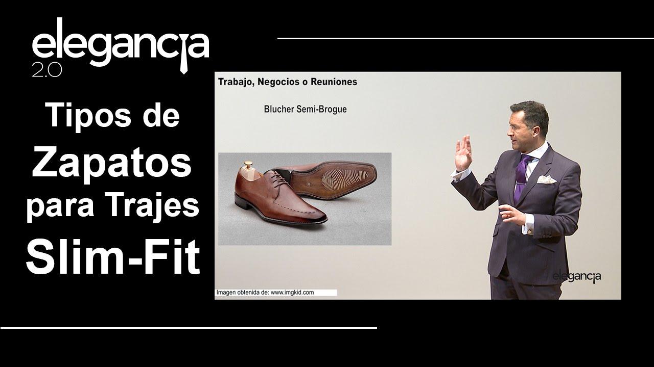 3717c2310e58a Tipos de Zapatos para Trajes Slim Fit - Bere Casillas (Elegancia 2.0 ...