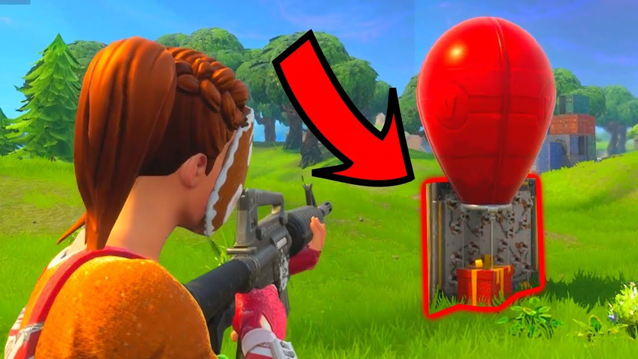 AIRDROP SPIKE TRAP! - Fortnite Battle Royale