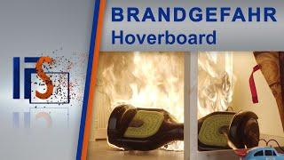 Brandgefahr durch Hoverboards
