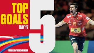 Top 5 Goals | Day 17 | Men's EHF ERUO 2020