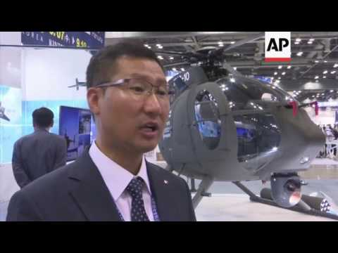 South Korea shows off military might at defence expo