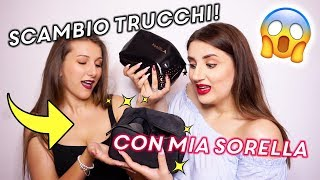 SCAMBIO TRUCCHI CON MIA SORELLA 😱 GET READY WITH US | The Lady