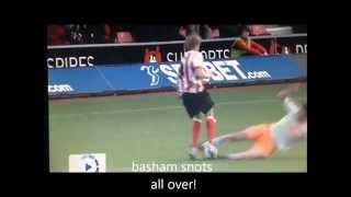 southampton vs blackpool comedy.wmv