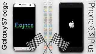 Galaxy S7 Edge (Exynos) vs. iPhone 6S Plus Speed Test! (REMATCH)