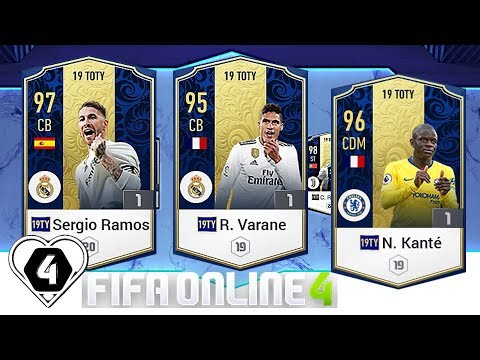 FIFA ONLINE 4: TEST HÀNG 19TOTY VỚI R. Varane 19TOTY - S. Ramos 19TOTY & N. Kante - ShopTayCam.com thumbnail