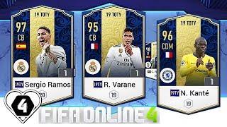 FIFA ONLINE 4: TEST HÀNG 19TOTY VỚI R. Varane 19TOTY - S. Ramos 19TOTY & N. Kante - ShopTayCam.com