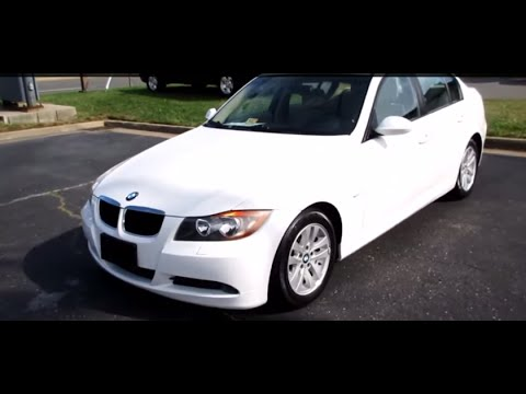 *SOLD* 2006 BMW 325i Walkaround, Start Up, Tour And Overview