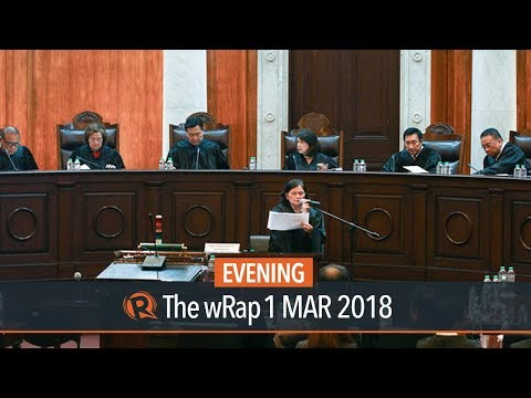 Sereno's indefinite leave a 'consensus' of SC en banc