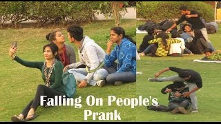 Falling On People's Prank in INDIA || By Danger Fun Club