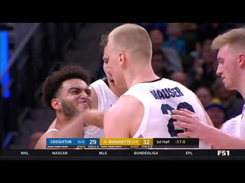 Marquette Courtside - Creighton holds off Marquette 66-60 on Sunday