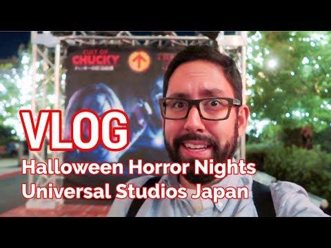 VLOG: Halloween Horror Nights at Universal Studios Japan
