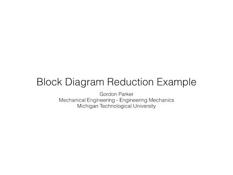 System block diagram block diagram reduction example by payne blake ccuart Gallery