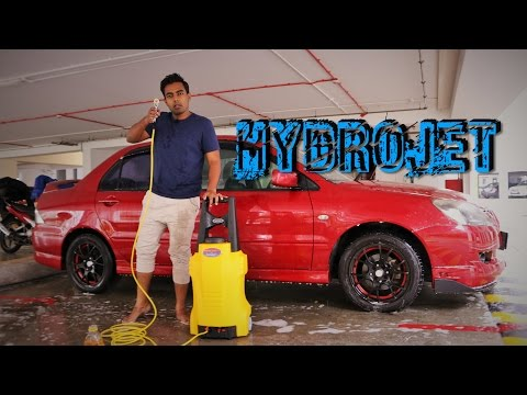 WASHING YOUR CAR? - Product Review Part 2 HYDROJET