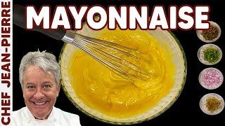 Homemade Mayonnaise Garlic Aioli Remoulade - Chef Jean-Pierre