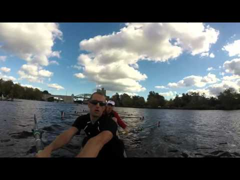 University of Cincinnati Head of the Charles Practice Row