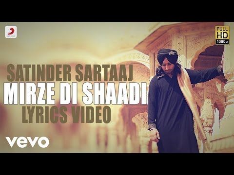 Satinder Sartaj - Mirze Di Shaadi | Rangrez | Lyric Video