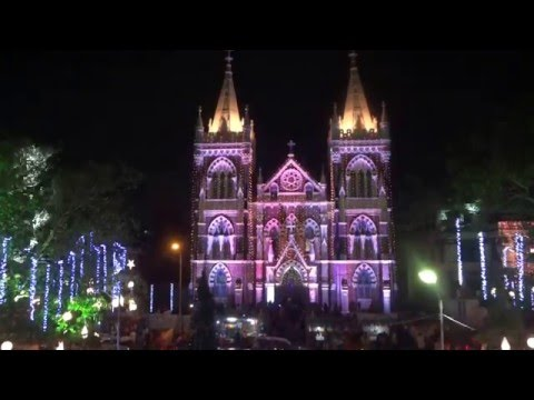Mount Mary Church, Bandra on Christmas Eve, 2015