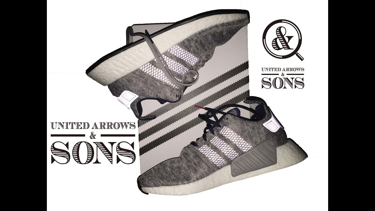 ea369f82d Adidas NMD R2 UNITED ARROWS AND SONS 2018    Expensive but not WORTH ...