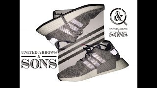 Adidas NMD R2 UNITED ARROWS AND SONS 2018 // Expensive but not WORTH IT