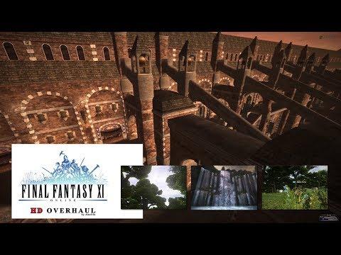 FFXI - Lower Jeuno - HD Overhaul