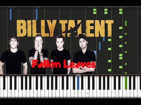 Billy Talent - Fallen Leaves Synthesia Tutorial